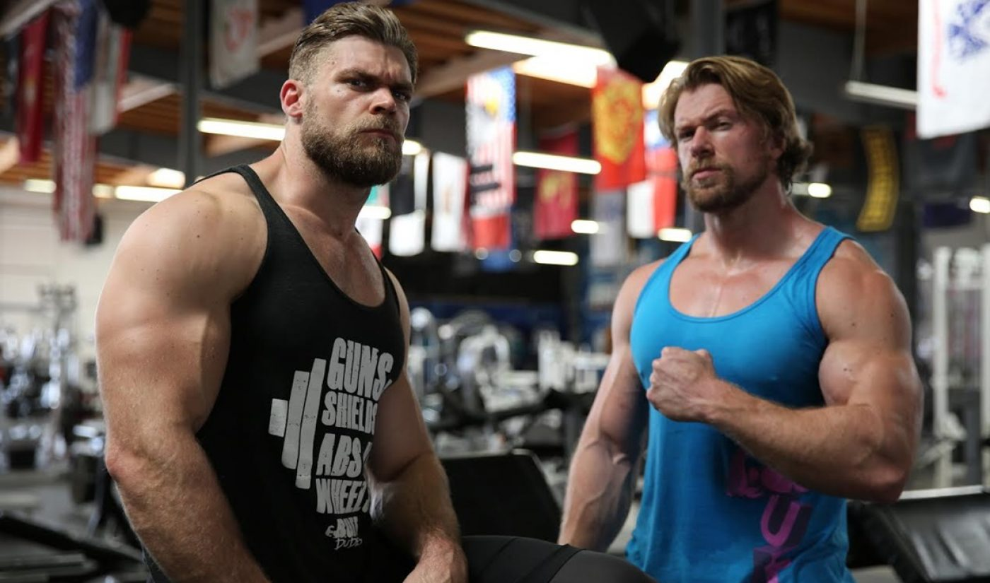 """YouTube Millionaires: The Buff Dudes """"Keep It Weird"""" With Offbeat Fitness Videos"""