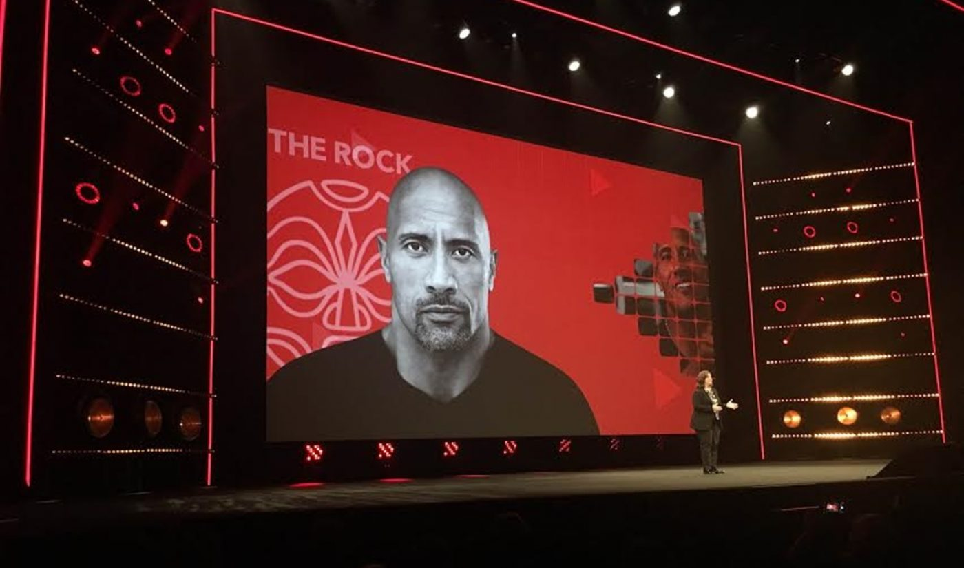 Dwayne 'The Rock' Johnson Headlines YouTube Red's New Slate Of Funded Shows