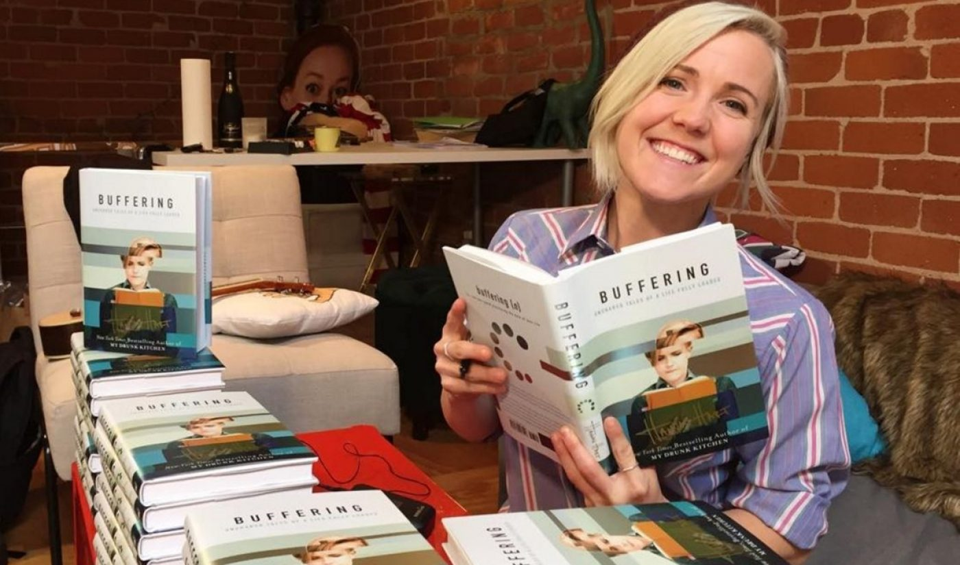 Hannah Hart's 'Buffering' Book Debuts At #4 On New York Times Best Sellers List