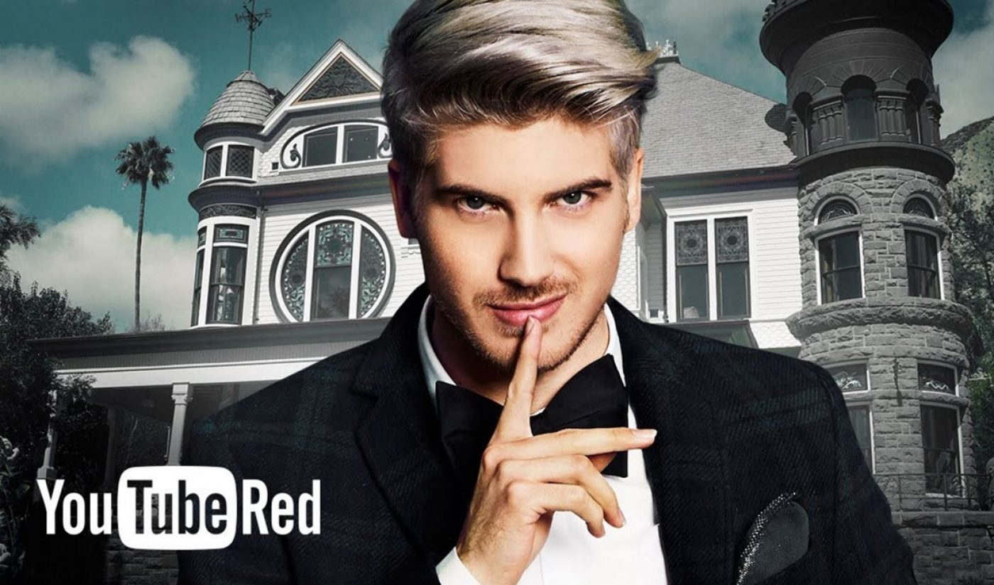YouTube Red Renews Joey Graceffa's 'Escape The Night' As Service Reports Steady Growth