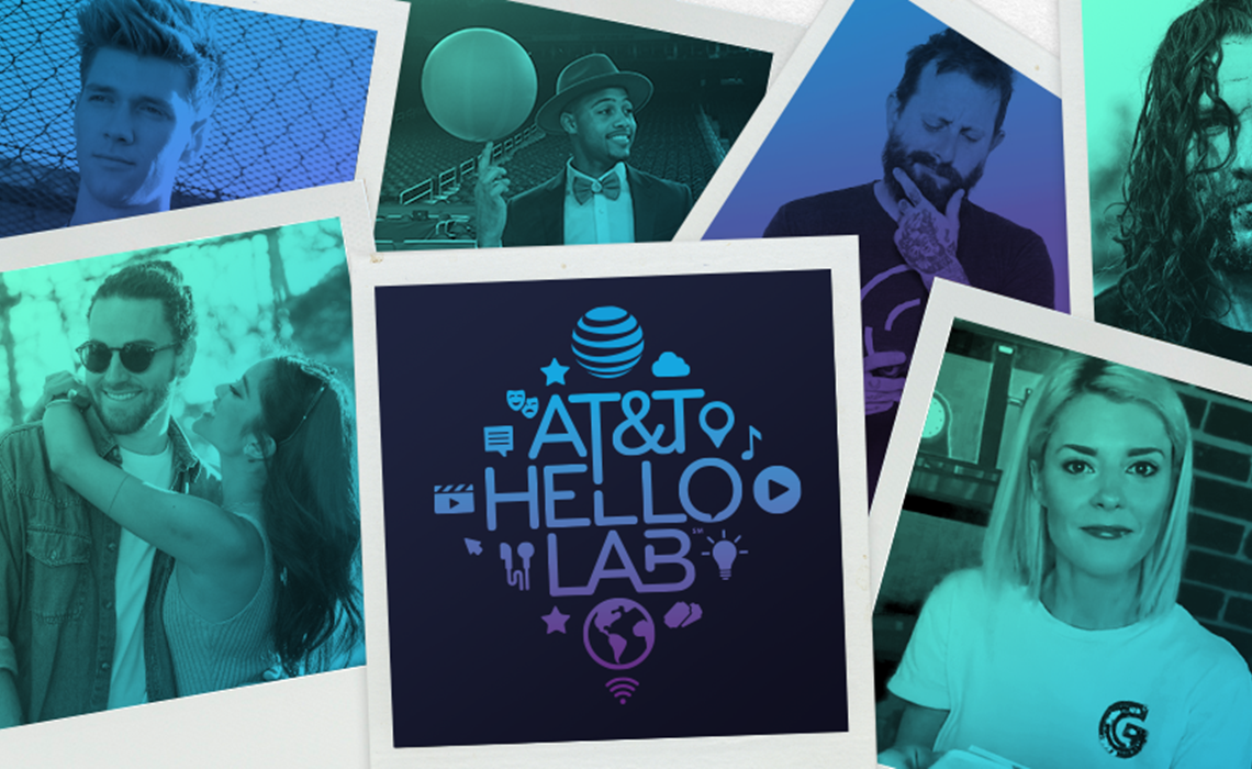 AT&T's Hello Lab Teams With Social Media Stars For Three New Shows On Instagram