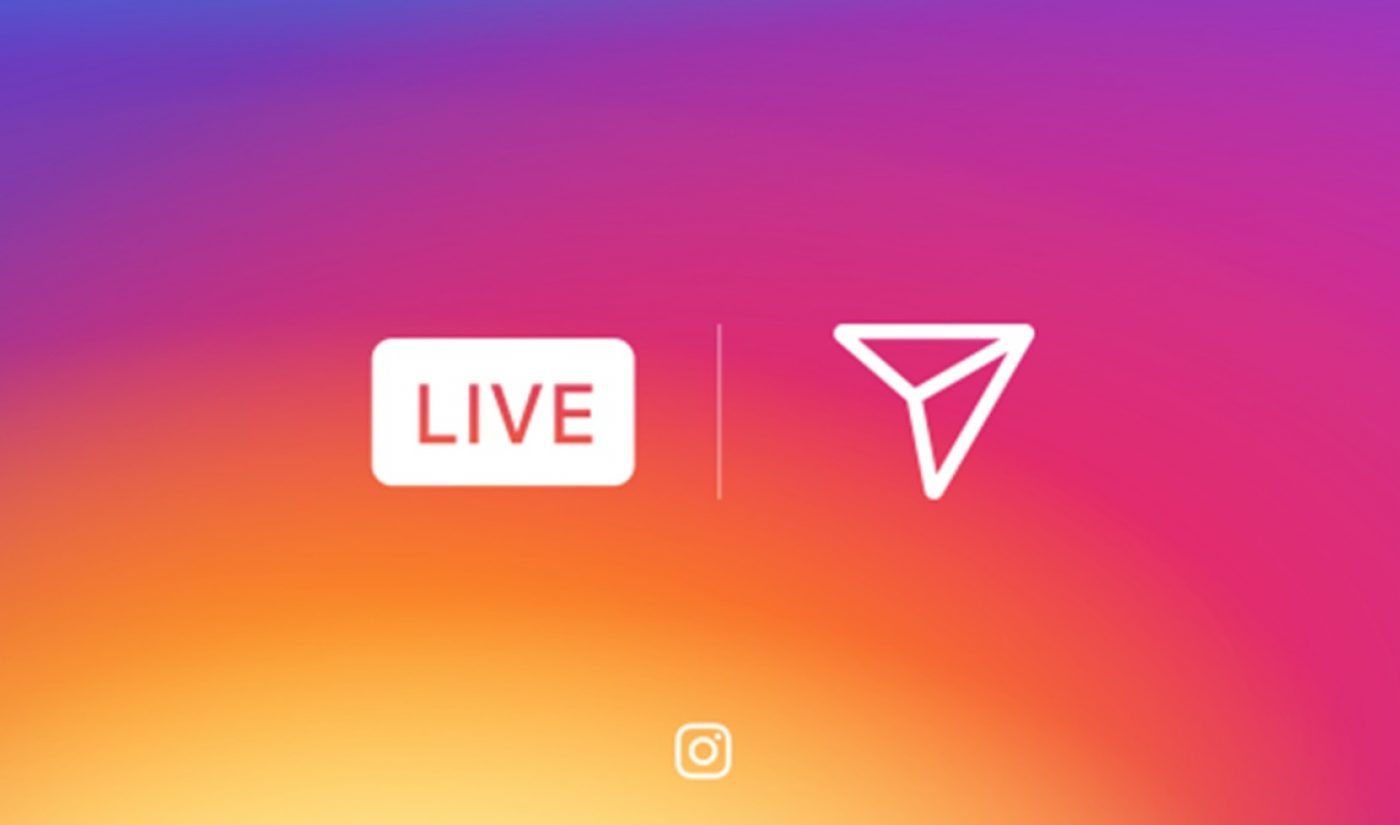 Instagram Officially Announces The Launch Of Live Video