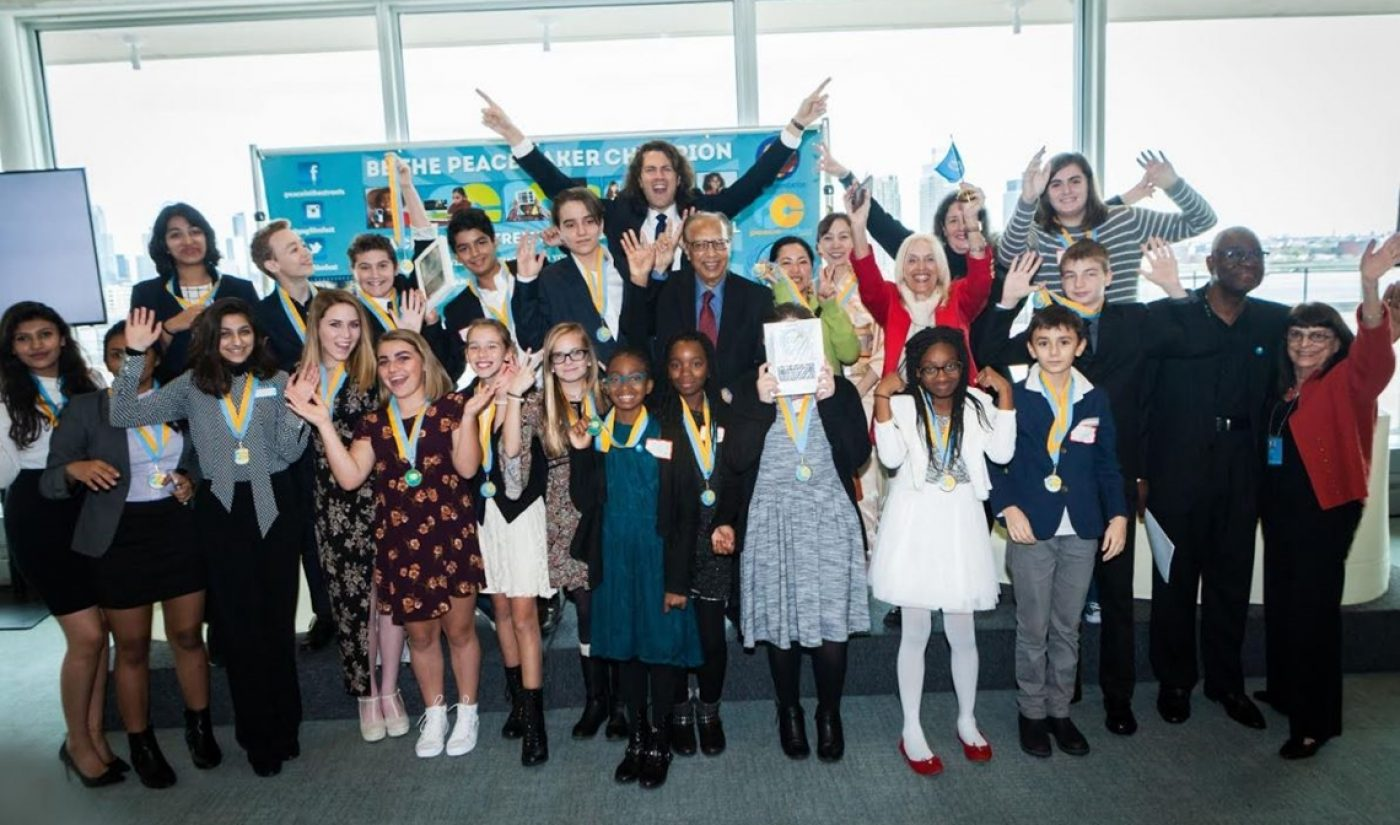 Young Filmmakers Honored At UN During Peace In The Streets Global Film Festival