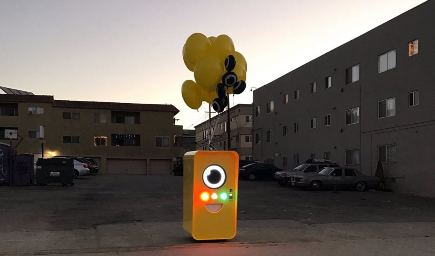 Snapchat's Spectacles Are On Sale Today Via Interactive Yellow Vending Machines