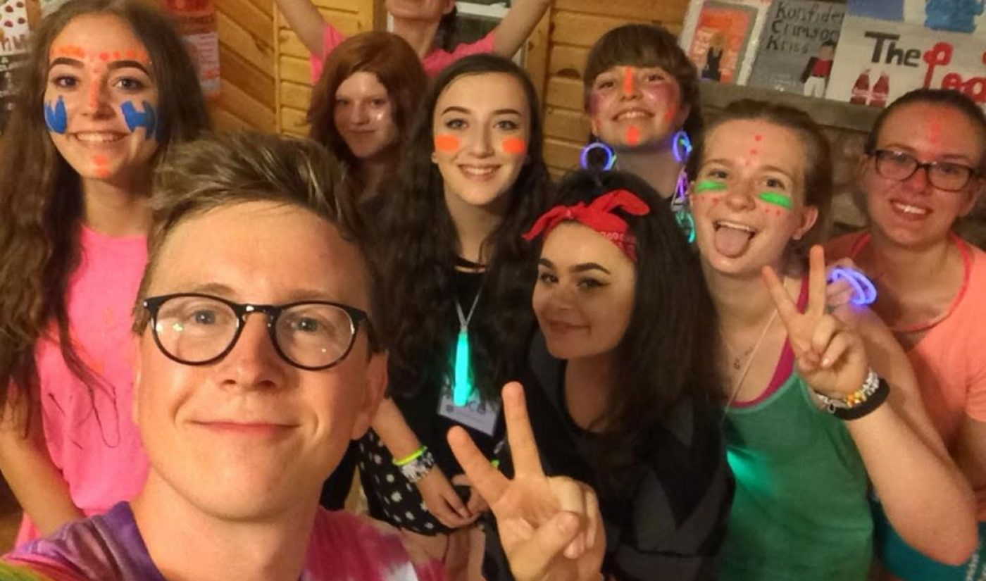 This YouTube Mega-Fan Went To Camp With Bethany Mota And Tyler Oakley. Here's What It Was Like.