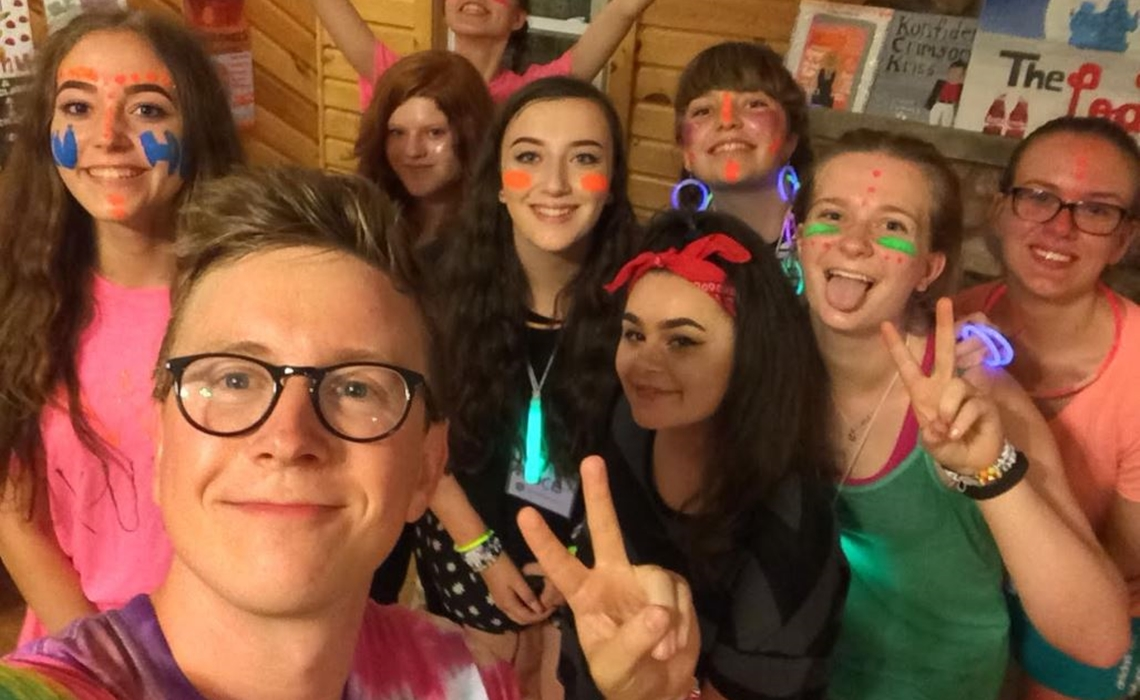 This youtube mega fan went to camp with bethany mota and tyler this youtube mega fan went to camp with bethany mota and tyler oakley heres what it was like m4hsunfo