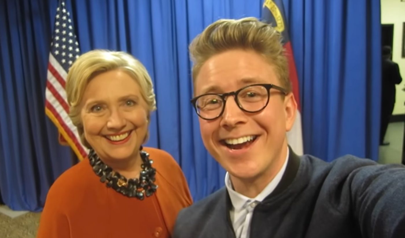 Tyler Oakley Hangs With Hillary Clinton: An Election Day YouTube Roundup