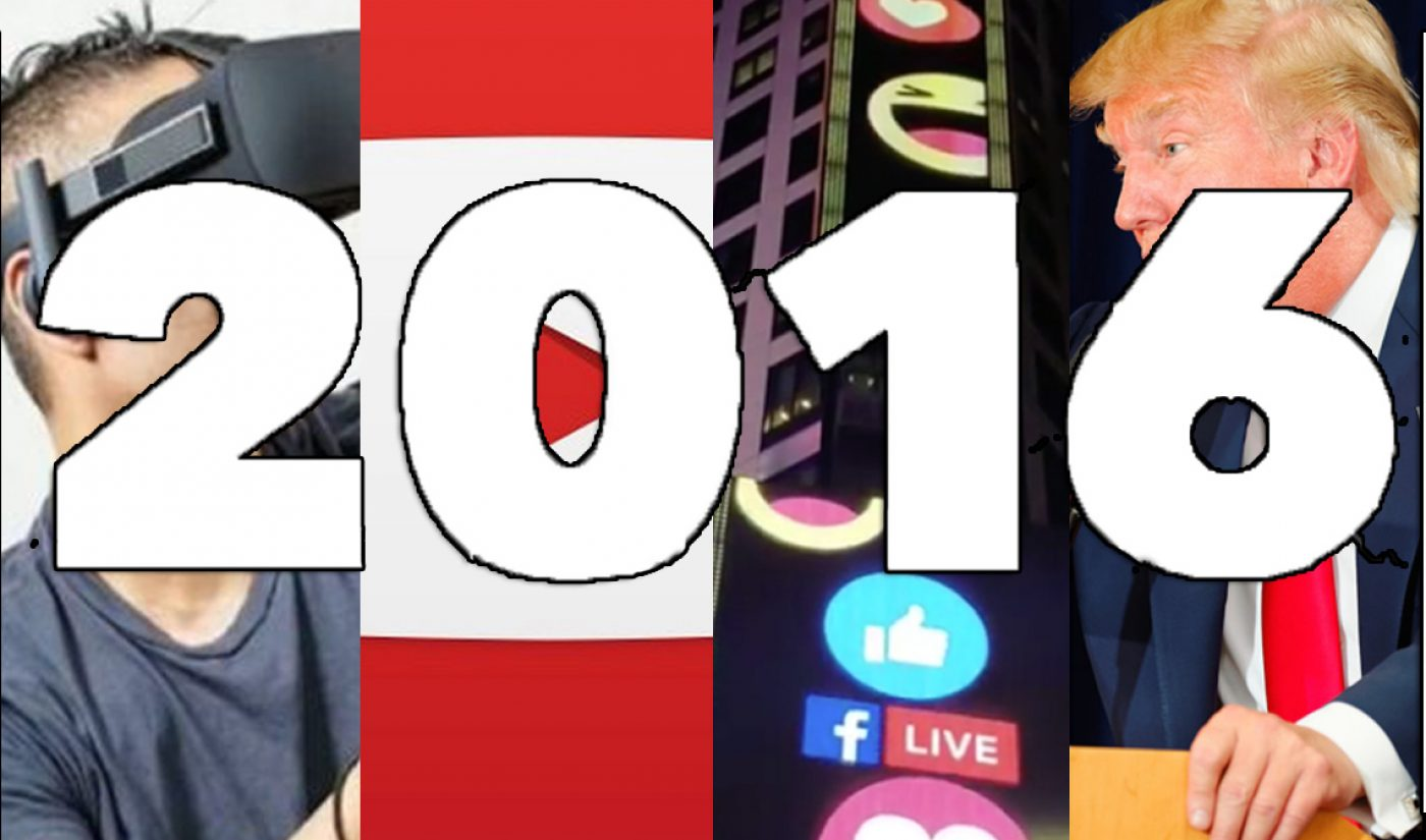 Live Streaming, The Election, YouTube Aspirations, And The Other Trends That Defined Online Video In 2016