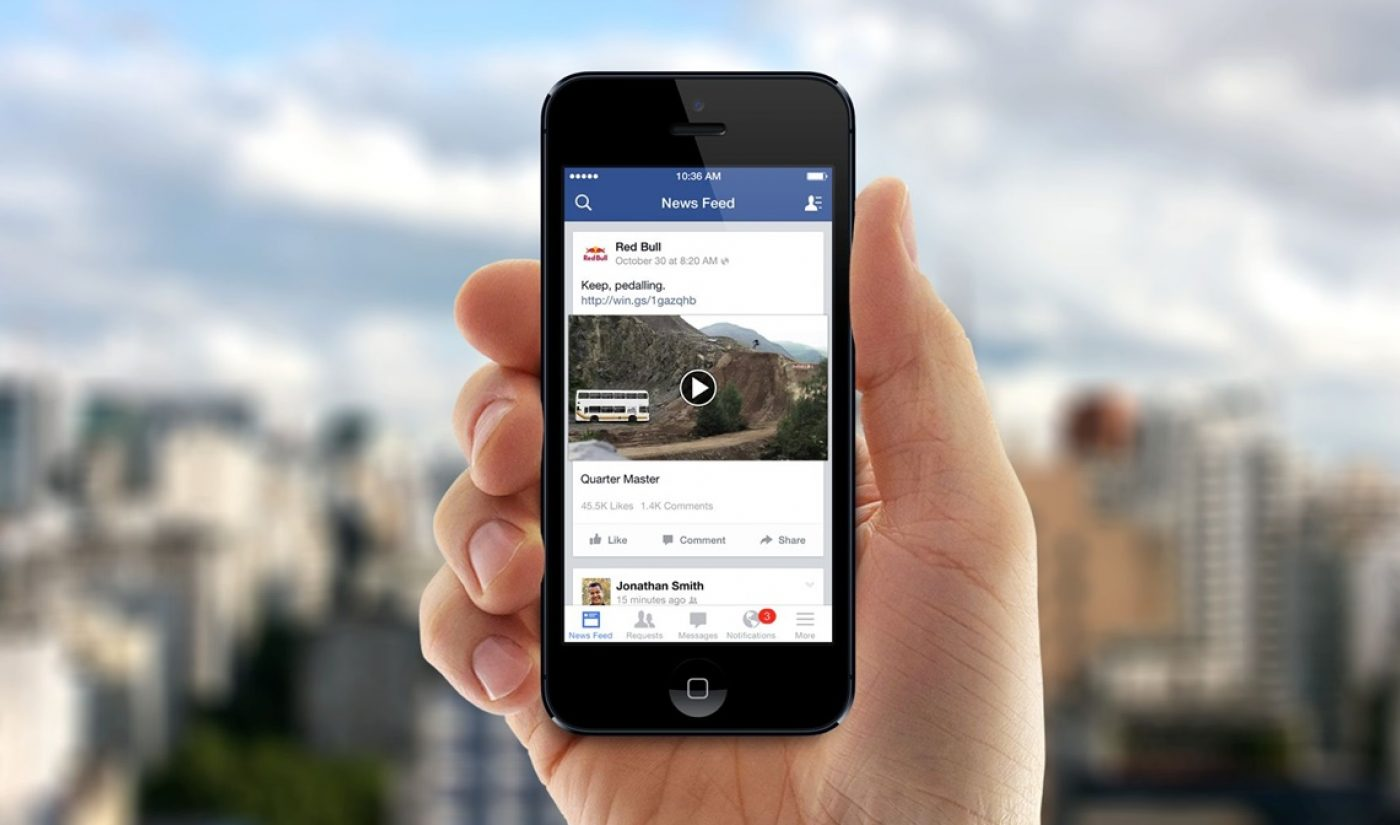 Facebook Plans To Fund And Distribute Exclusive Original Video Programs