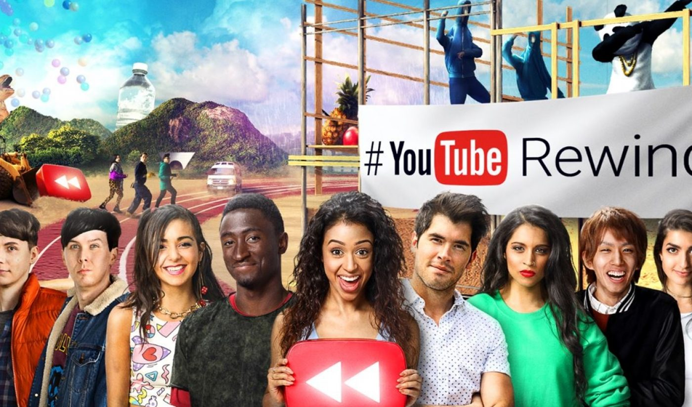 YouTube Rewind 2016, Featuring 200 Creators And Shot In 18 Countries, Is Here (Watch)