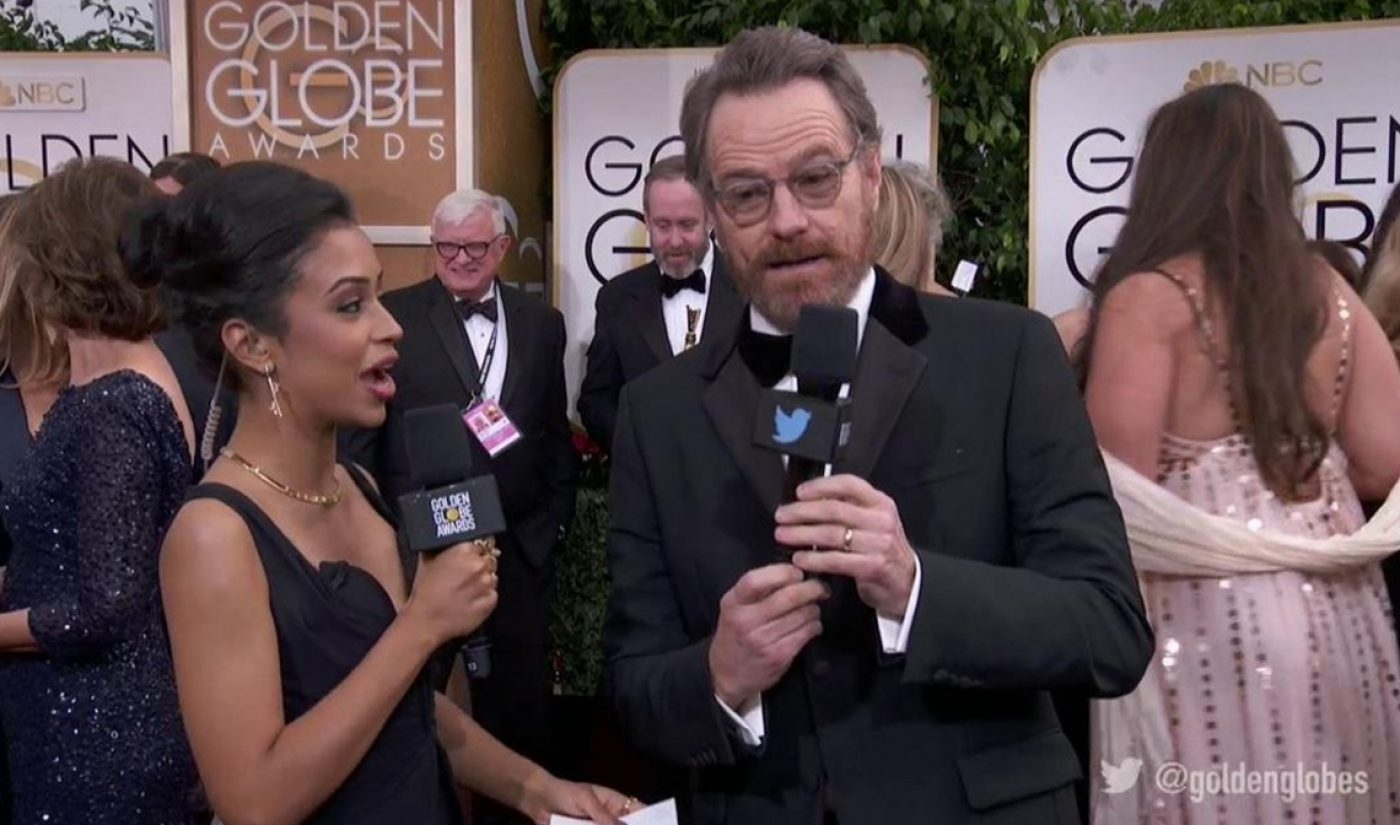 Twitter's Golden Globes Pre-Show, Co-Hosted By Liza Koshy, Nabs 3 Million Viewers