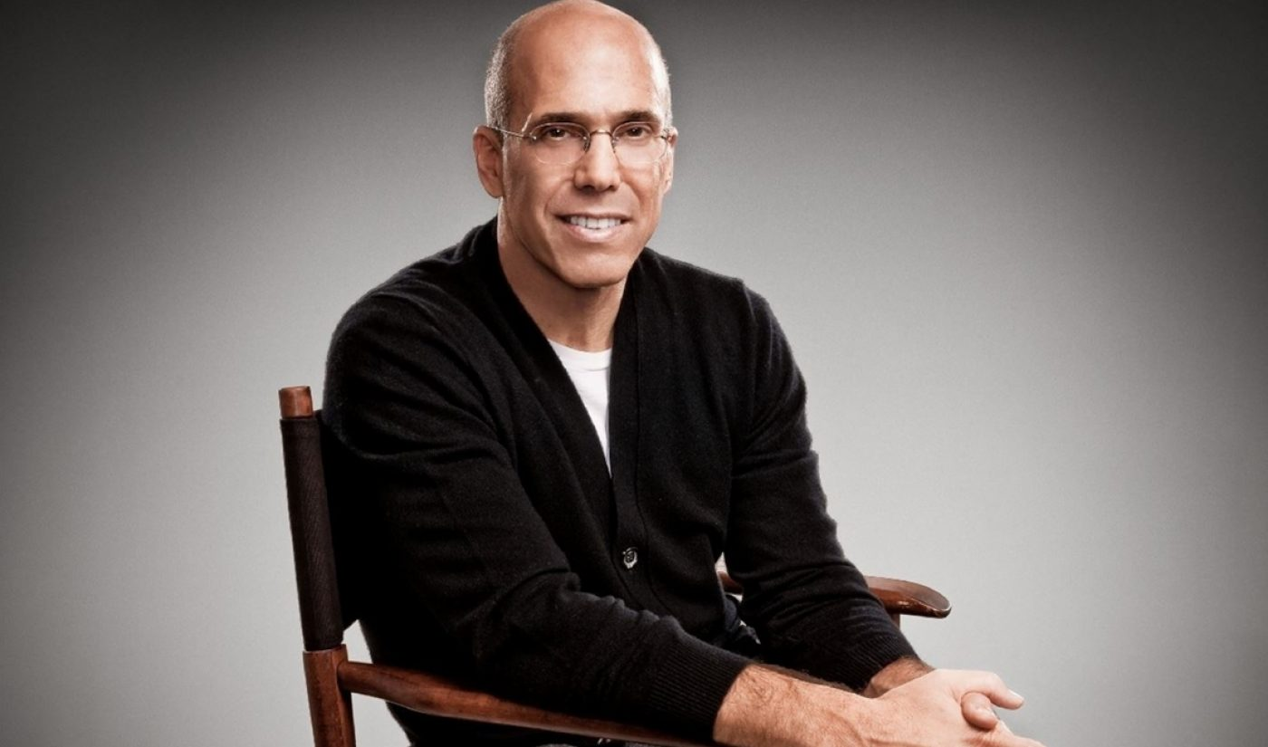 With WndrCo, Jeffrey Katzenberg Wants To Develop TV-Like Content For Mobile