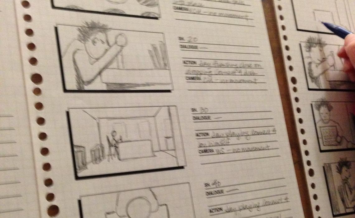 diary-of-a-web-series-stray-storyboard-reality
