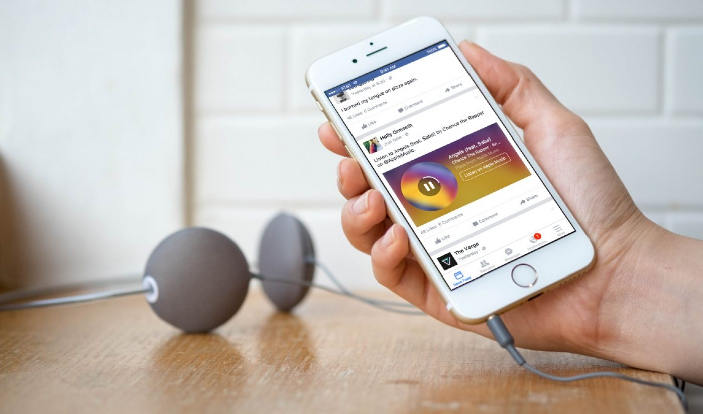 Facebook Hopes To Gather Music Videos With Recording Industry Deals
