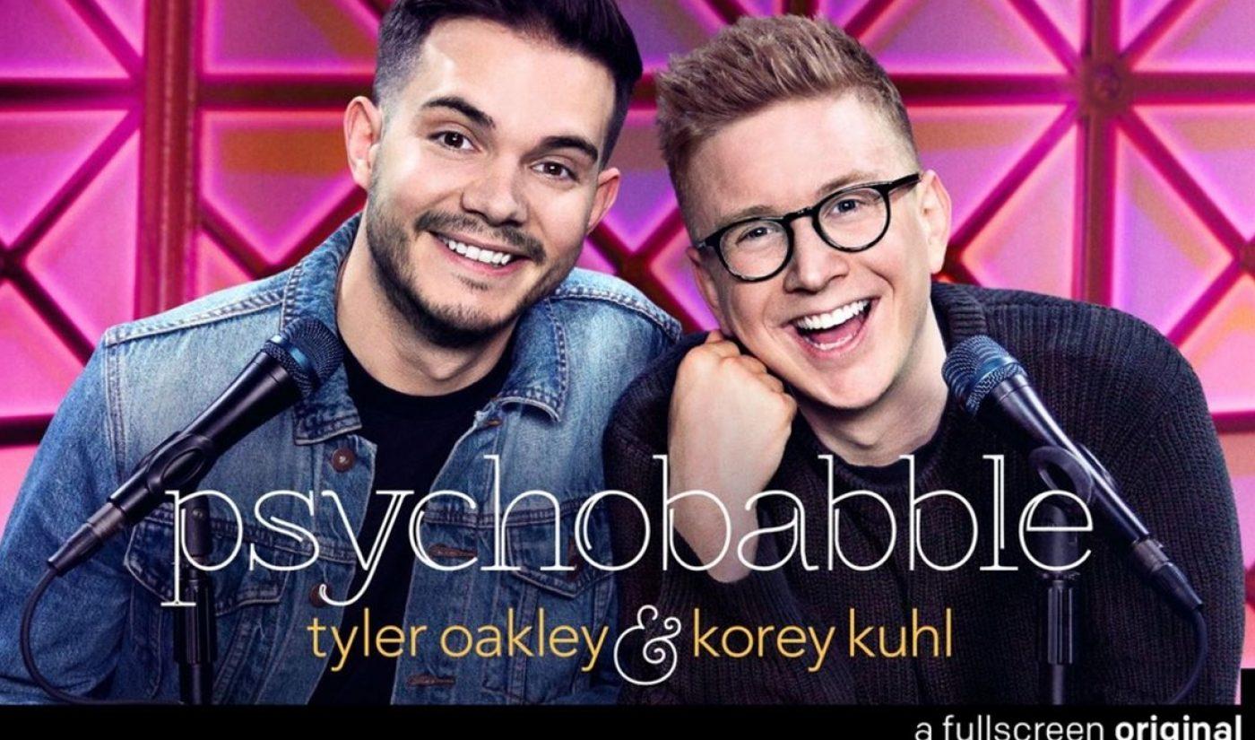 Tyler Oakley, Korey Kuhl Launch Video 'Psychobabble' Podcast On Fullscreen