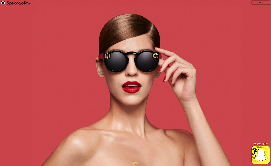 022a1b76359d Snapchat Now Selling Its  Spectacles  Camera Glasses Online - Tubefilter