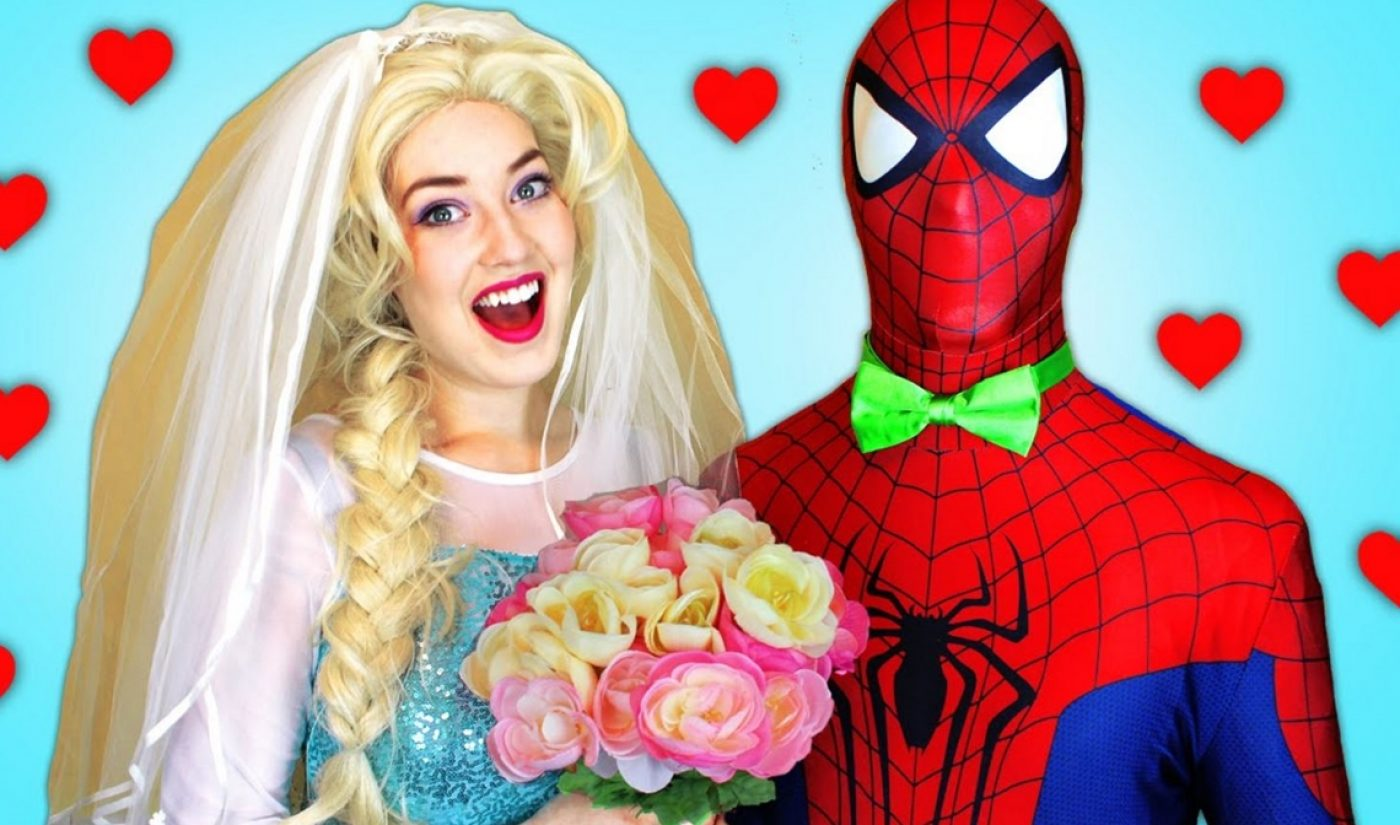 YouTube's Latest Bizarre Trend Has Adults Dressing Up In Spider-Man And Elsa Costumes