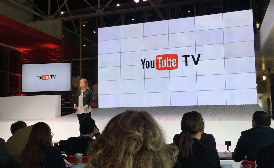 YouTube Reveals YouTube TV, A $35 Bundle Of Live TV ...
