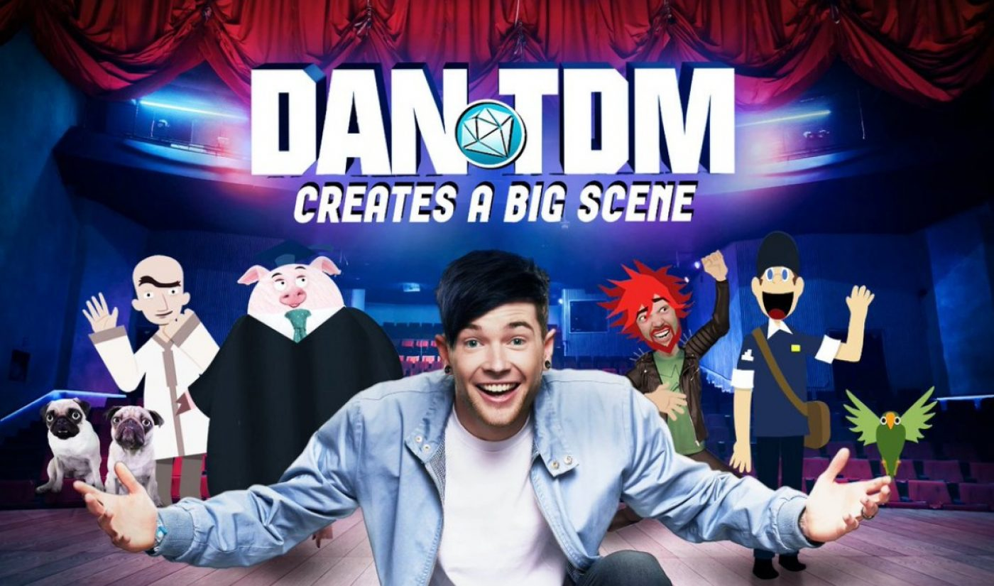 In Trailer For DanTDM's YouTube Red Series, The Show Must Go On