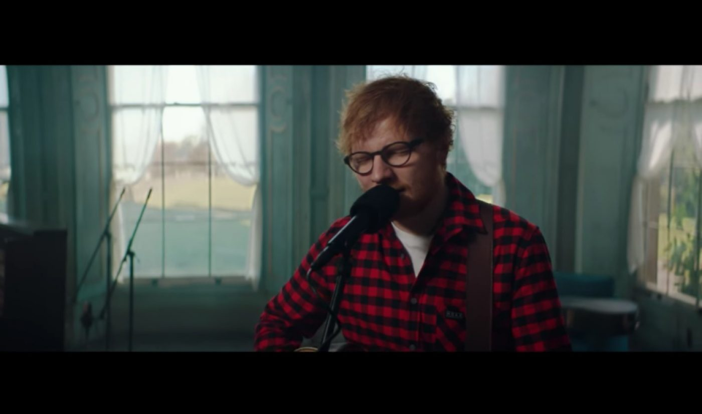 Ed Sheeran Puts 14 Songs From New Album On YouTube, Gets 20 Million Views In 14 Hours