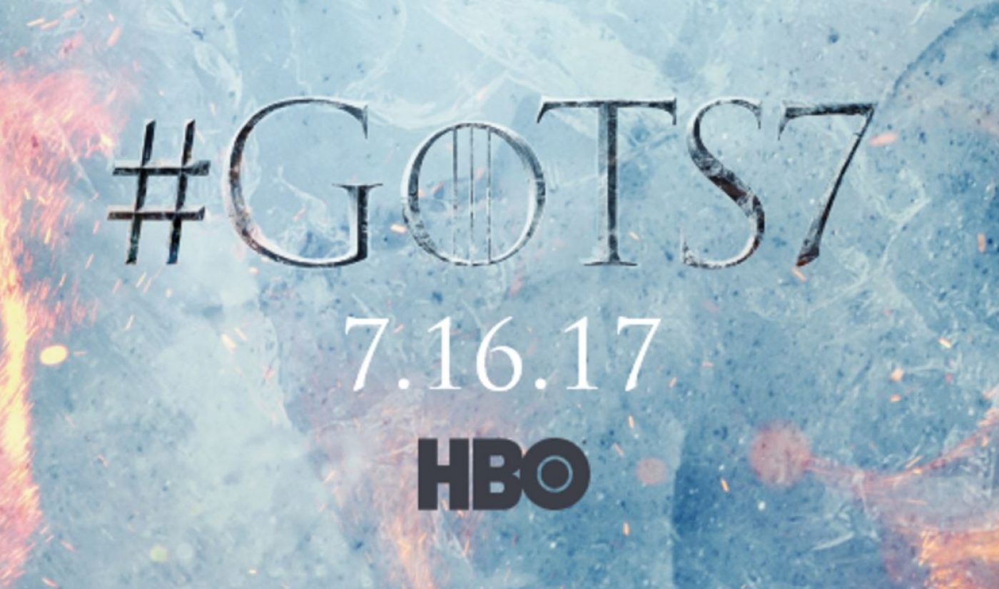 Millions Watched Glitchy 'Game Of Thrones' Facebook Stream Revealing Season 7 Premiere Date