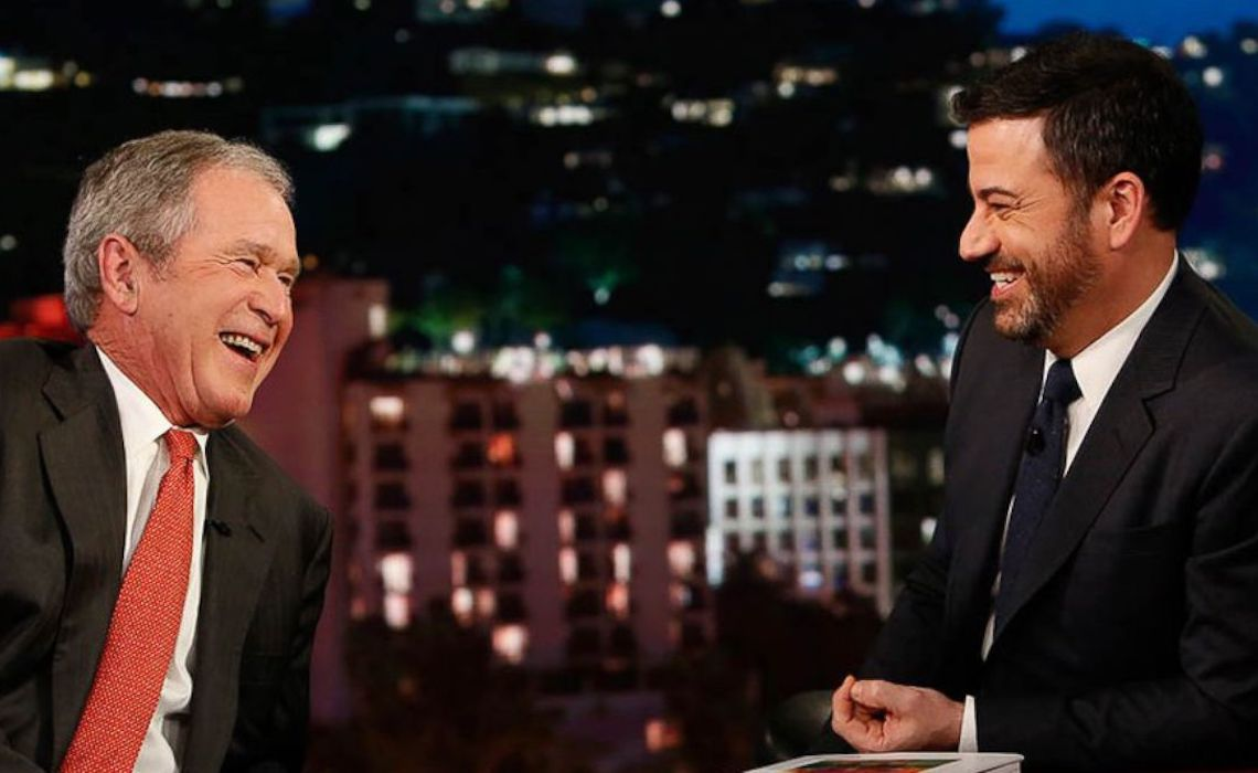 jimmy-kimmel-george-bush-views