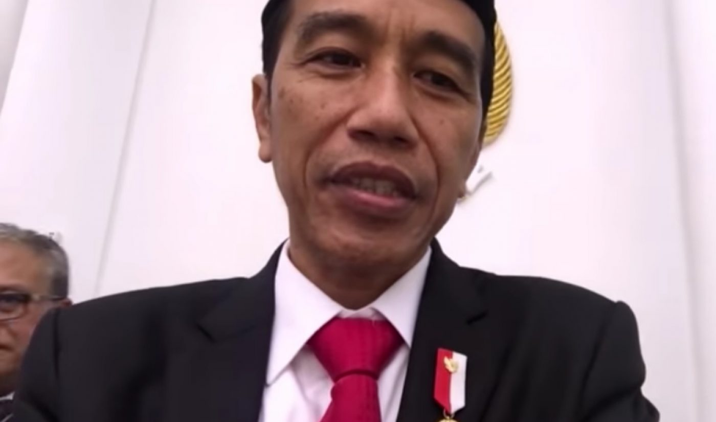 Indonesia's President Is An Up-And-Coming YouTube Star