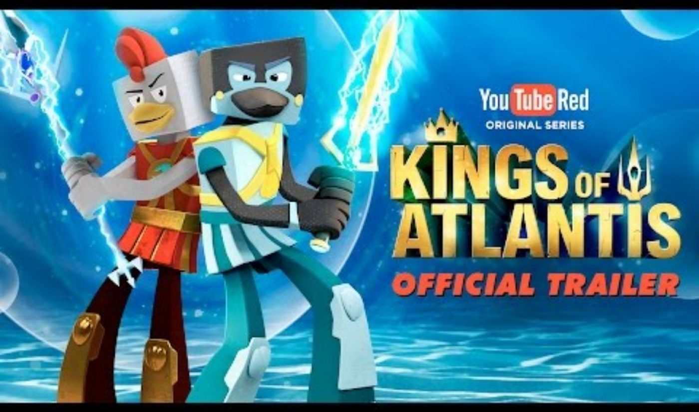Here's The Trailer For 'Kings Of Atlantis,' The First YouTube Red Original Series For Kids
