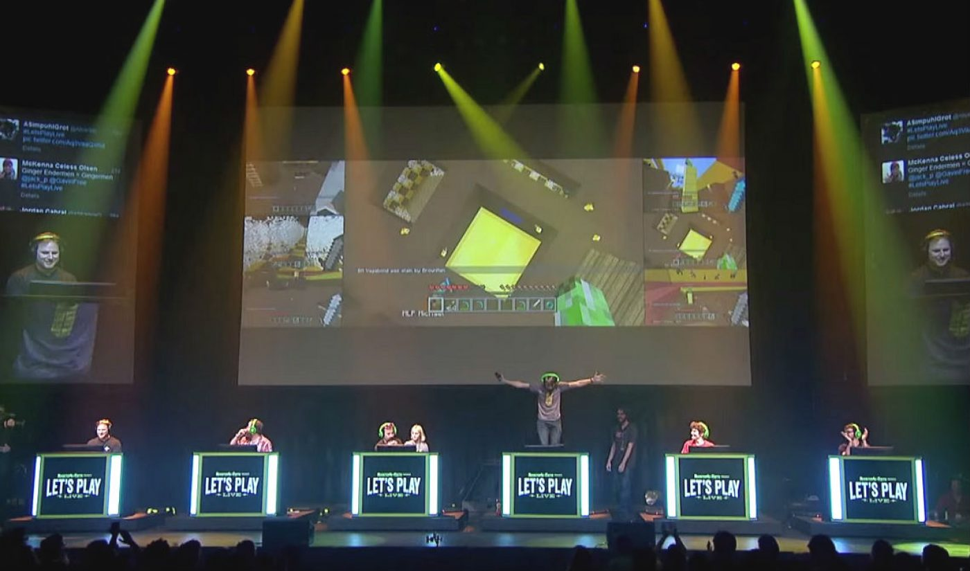 Rooster Teeth To Expand 'Let's Play Live' Franchise With Four Shows In April