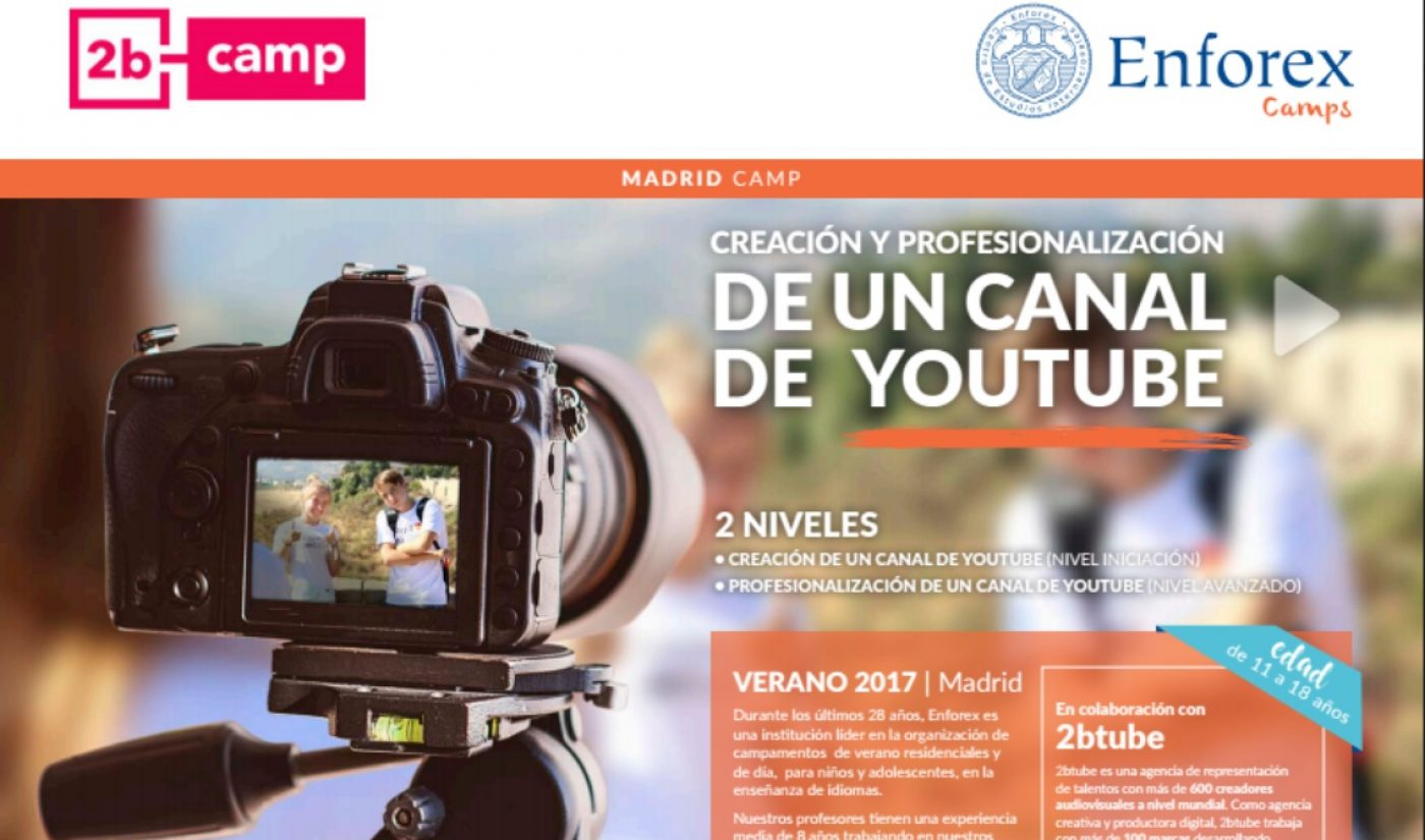 Spanish Camp For Aspiring YouTubers To Return For Second Summer