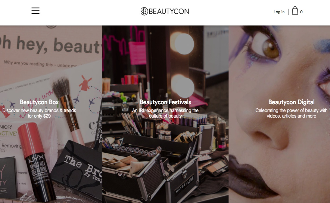 beautycon-website