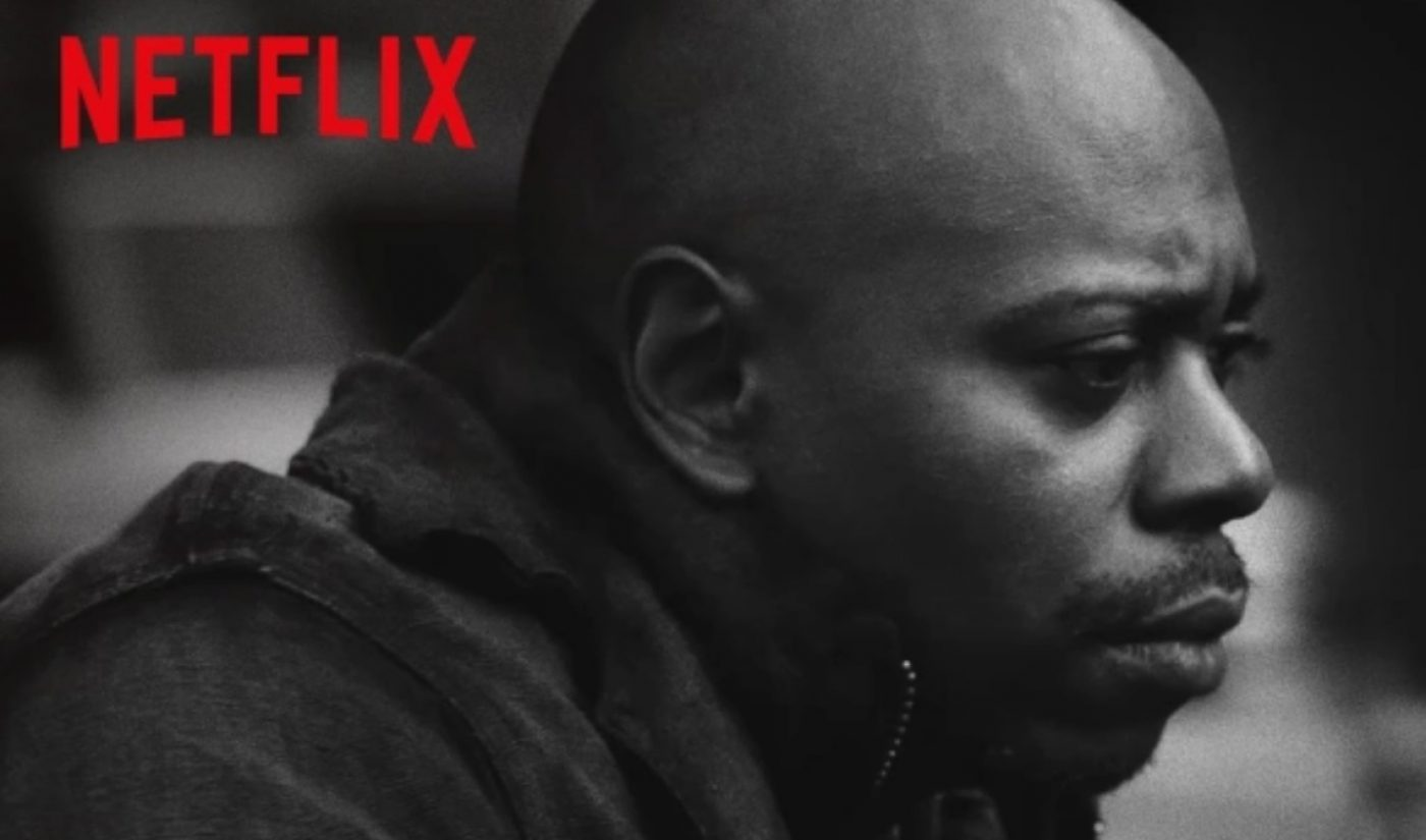 In Earnings Report, Netflix Says Dave Chappelle Special Is Its Most-Watched Stand-Up So Far