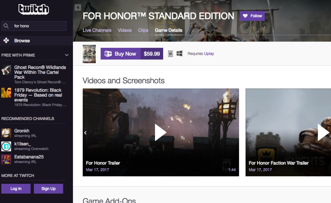 for-honor-twitch-commerce