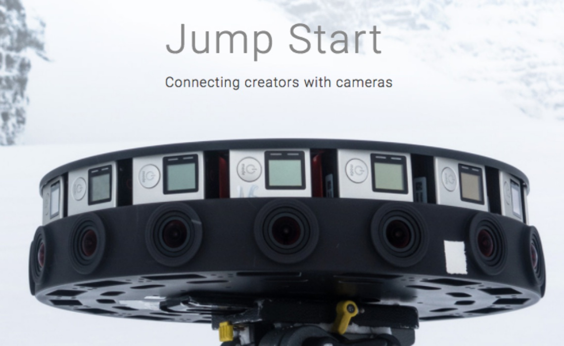Google Wants To Give Its $17,000, 360-Degree Camera Rig To Creators