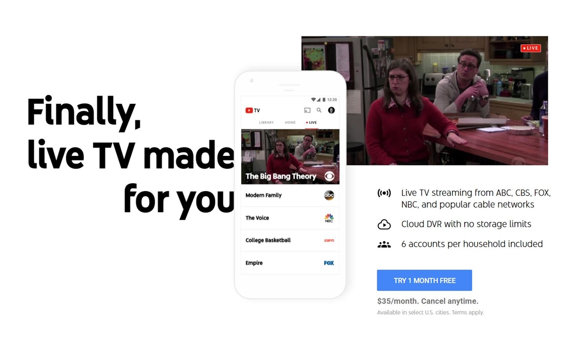 Youtube Tv Won T Let Viewers Fast Forward Through Ads On Certain Dvr D Shows Tubefilter