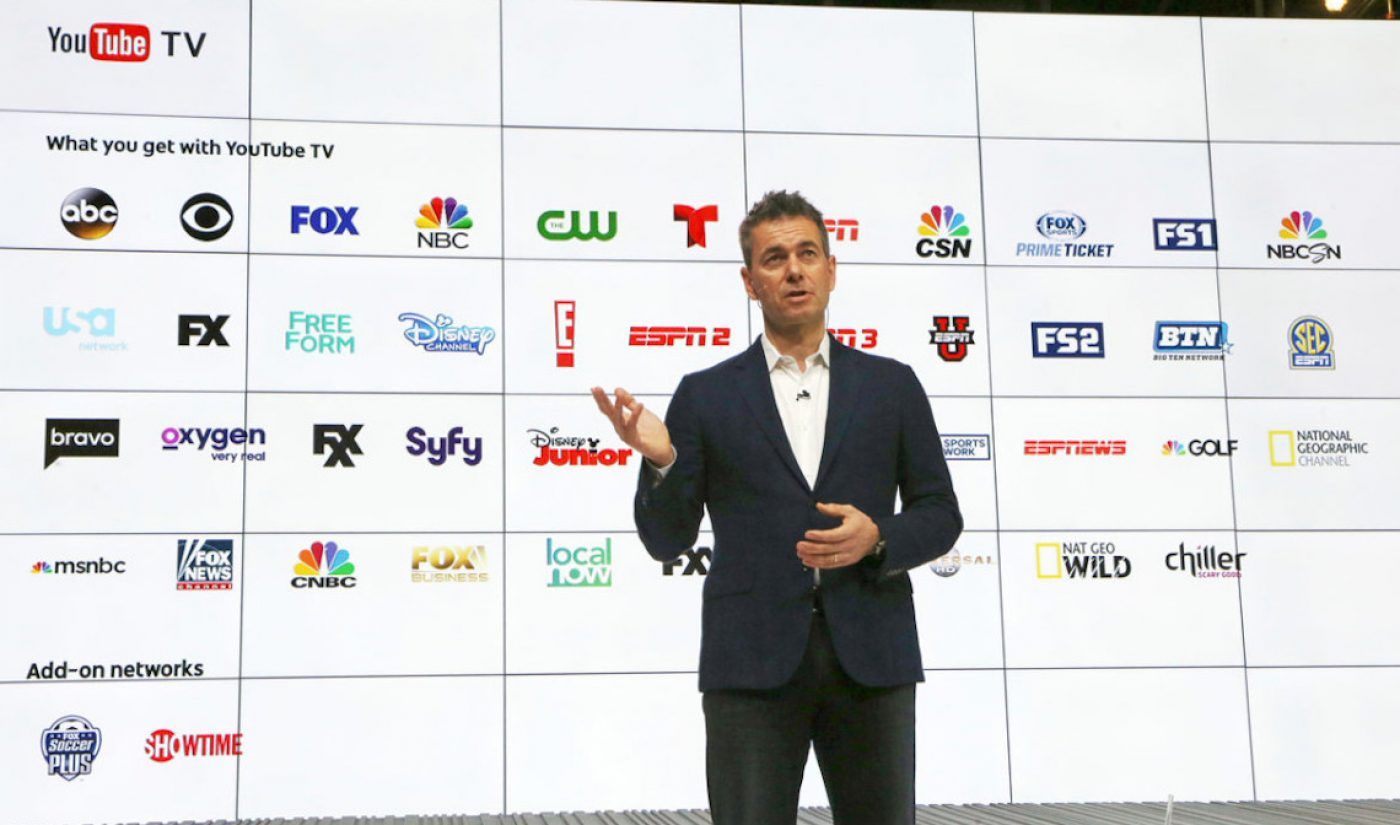 YouTube TV To Serve As Presenting Sponsor Of The 2017 World Series