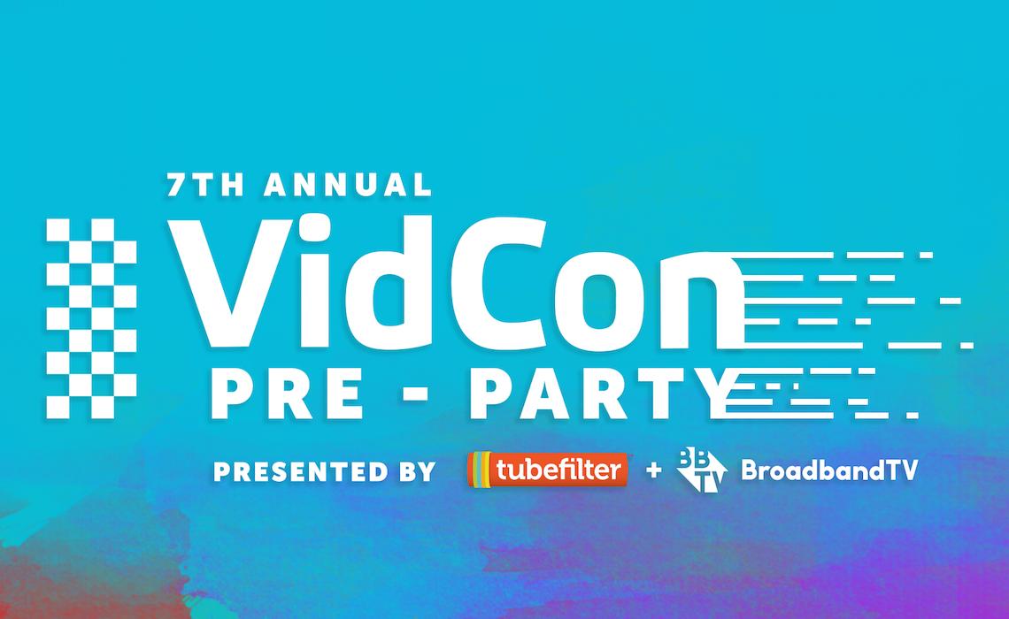 VidCon Pre-Party 2017