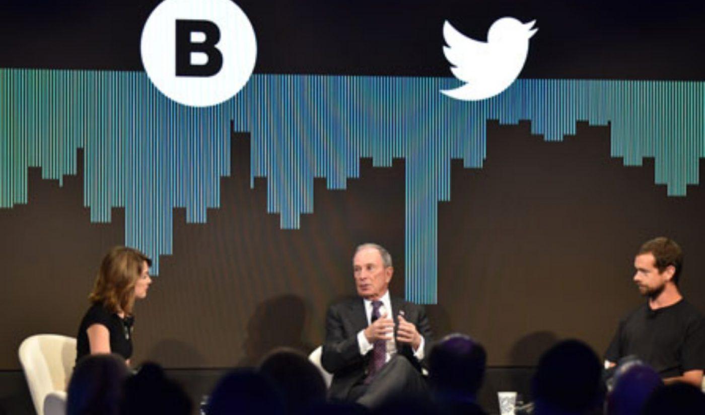 Bloomberg, Twitter Team Up For 24-Hour Digital News Network