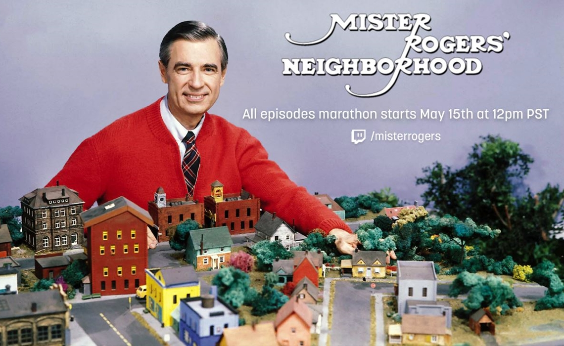 Mister Rogers' Neighborhood is getting a Twitch marathon