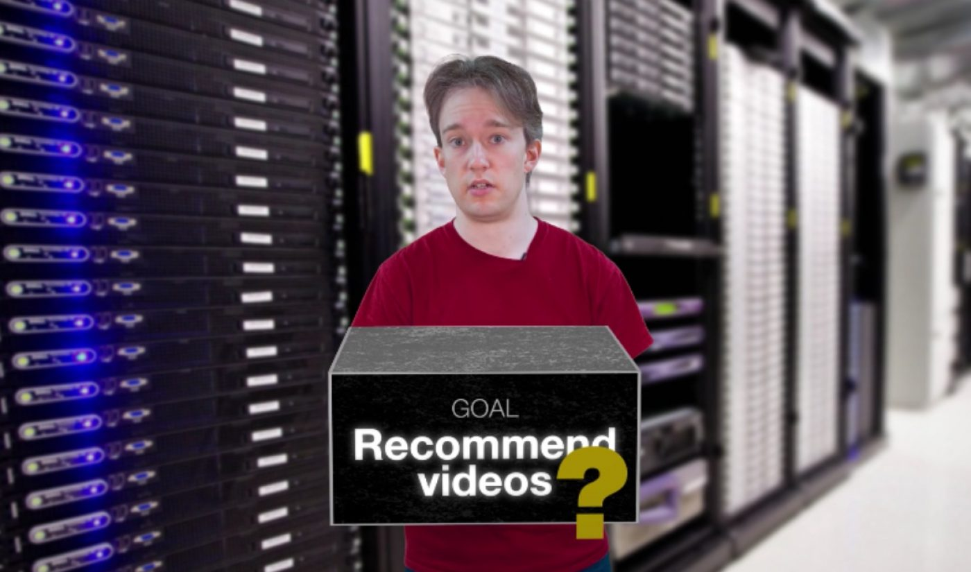 Tom Scott Explains Why YouTube Is So Quiet About The Details Of Its Recommendation Algorithm