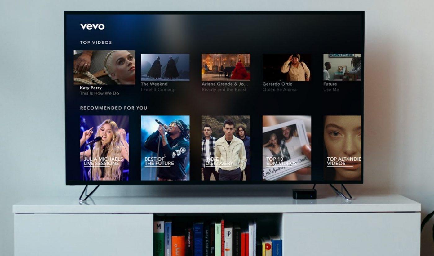 Vevo Unveils Revamped Apple TV App, Adds 7 To Original Content Team