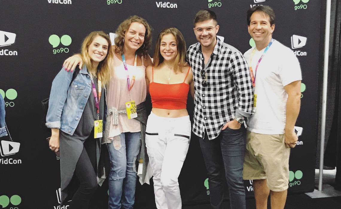 A Day In The Life Of An Agent At Vidcon With Caas Andrew Graham