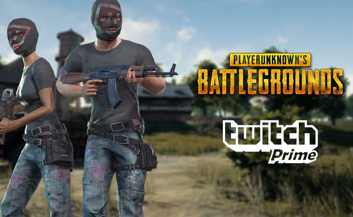 Twitch Prime members to get exclusive PlayerUnknown's Battlegrounds skins