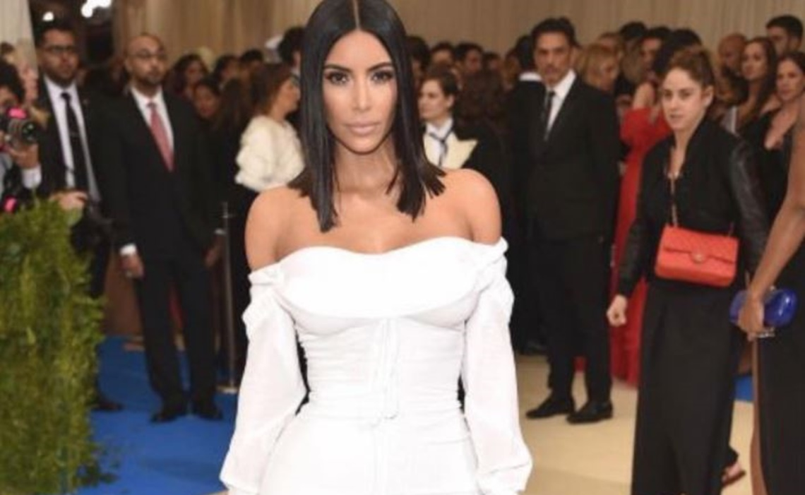 Kim Kardashian DENIES Dressing North West In A Corset!