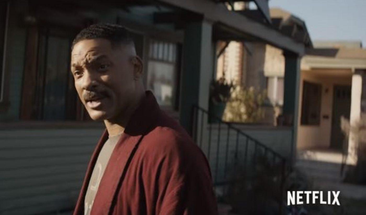 Netflix Unveils Trailer For Will Smith-Starring, $90 Million Blockbuster 'Bright'