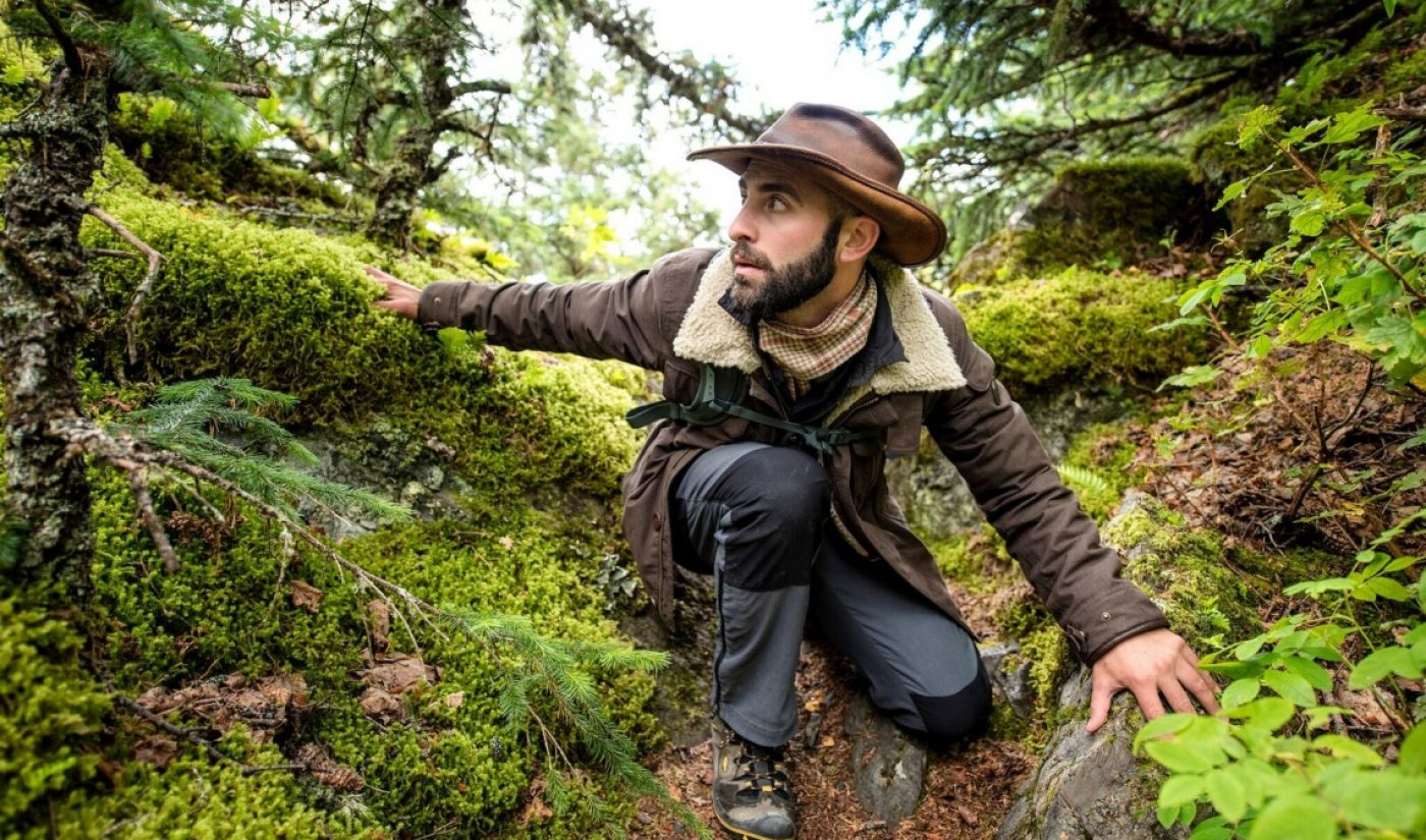 YouTube Star Coyote Peterson Of Brave Wilderness Announces Book, Tour