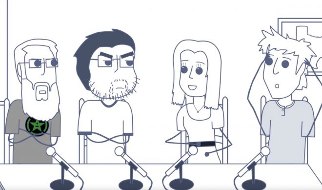 From Bedroom Closet to Recording Booth: The Meteoric Rise Of Rooster Teeth Animation