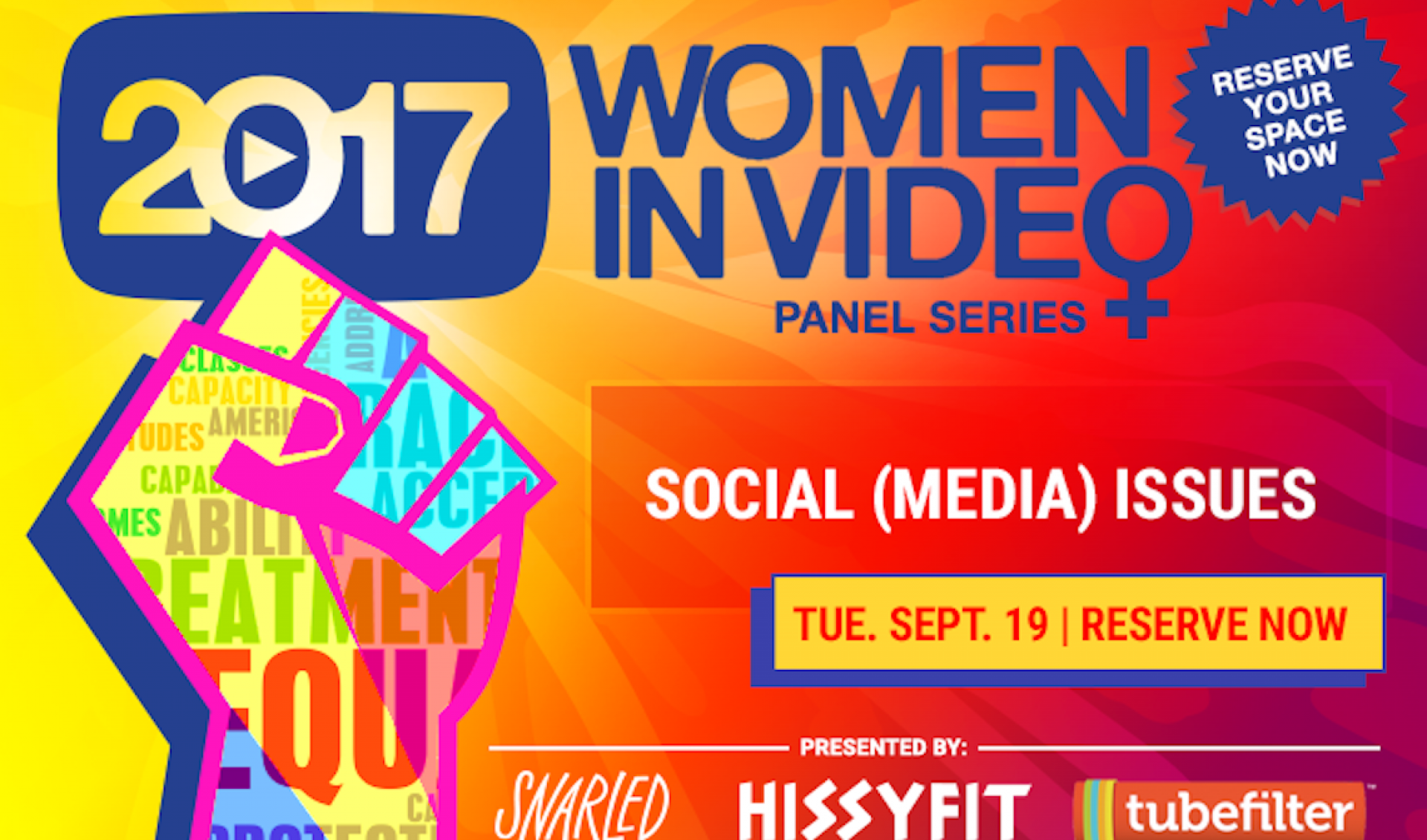 Tubefilter Meetup: Social (Media) Issues—Women Creating Meaning Through Creativity