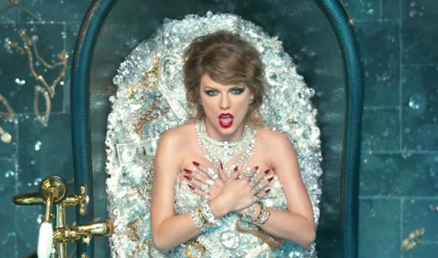 A Day After Being Uploaded To YouTube, Taylor Swift's New Music Video Sets Record With 35 Million Views