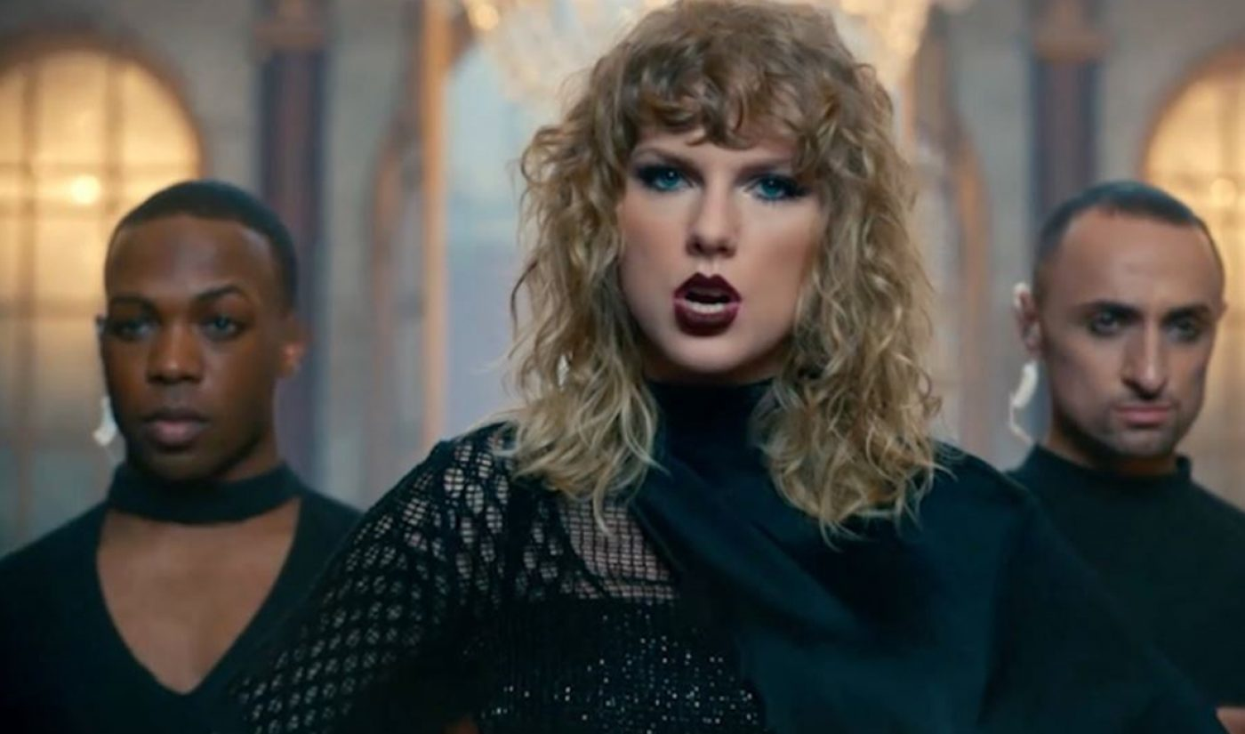 Todrick Hall To Appear In Taylor Swift's 'Look What You Made Me Do' Music Video